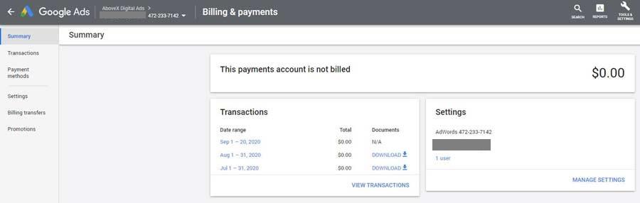 billing-detail-ad-grants